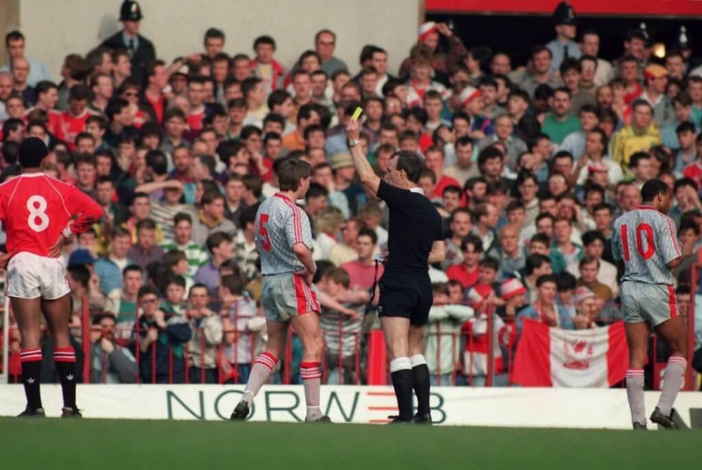 Manchester United v Liverpool 1990