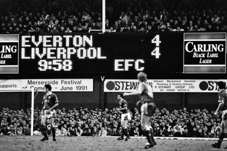Everton 4 Liverpool 4: One of the greatest Merseyside derbies ever played
