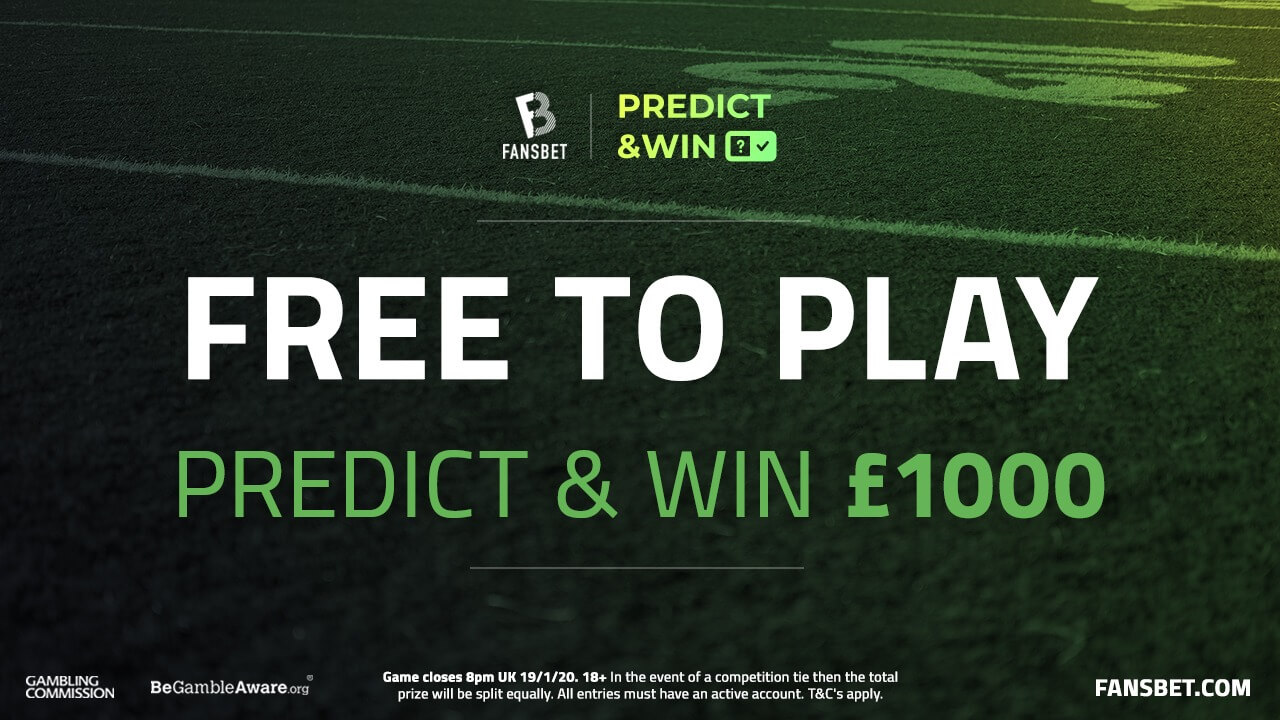 NFL Championship Games: Play our Predict & Win Game to win £1000!
