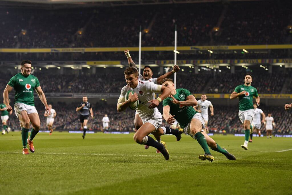 England v Ireland Six Nations