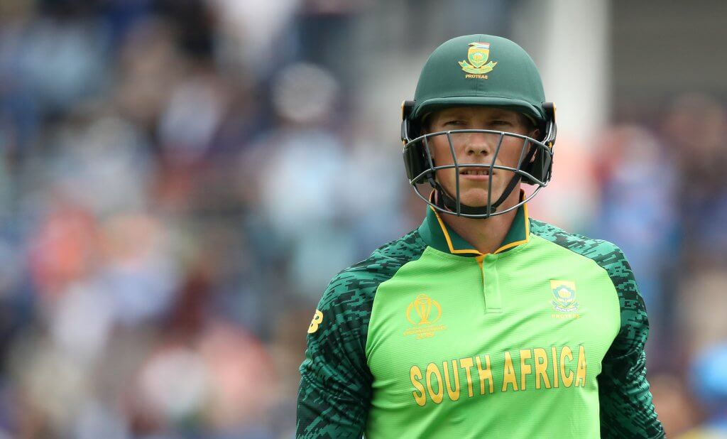 Rassie van der Dussen South Africa