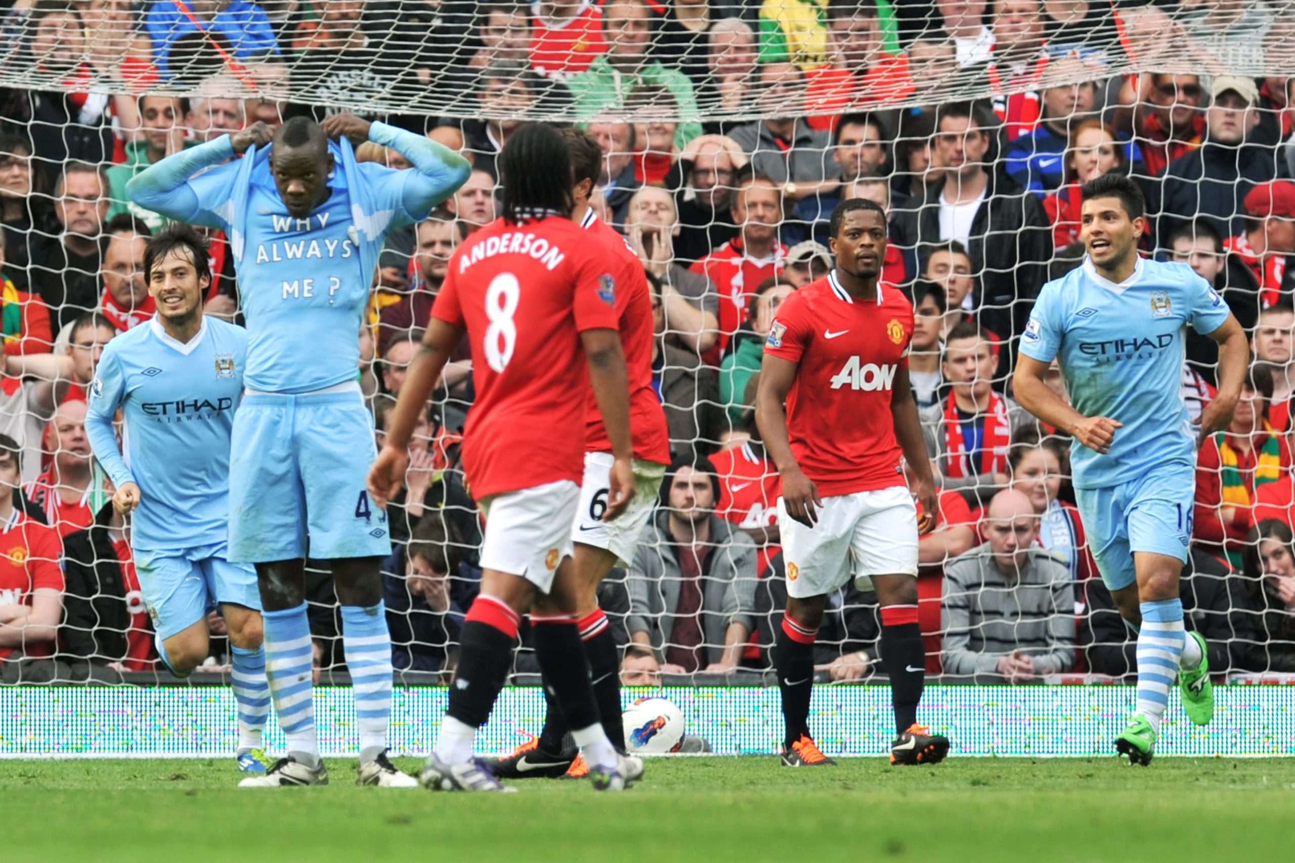 Six of the Best: Manchester United vs Manchester City games at Old Trafford