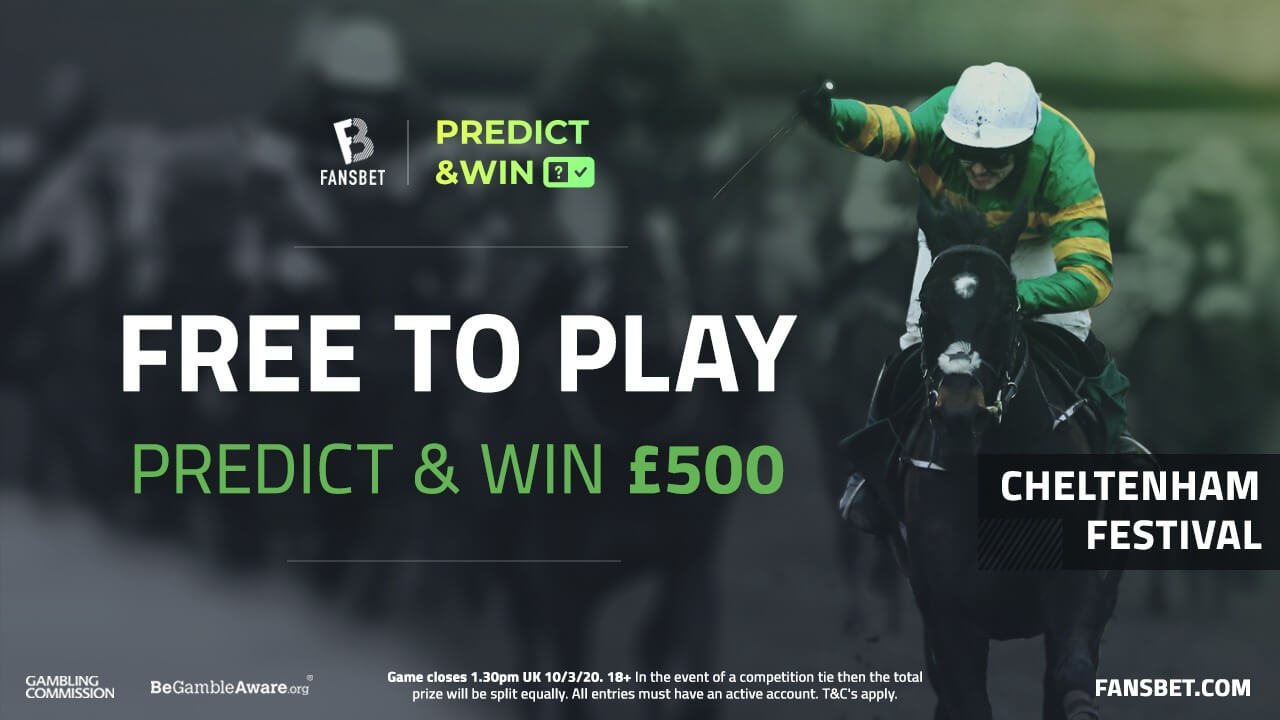 Cheltenham Festival: Play our Predict & Win Game to win £500!