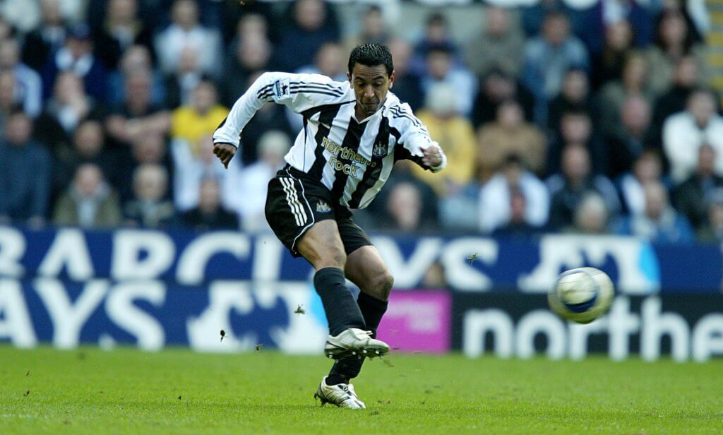 Nolberto Solano Newcastle United