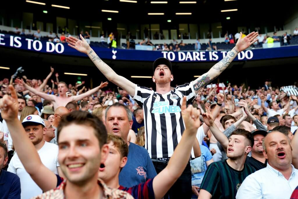 Newcastle united Fans