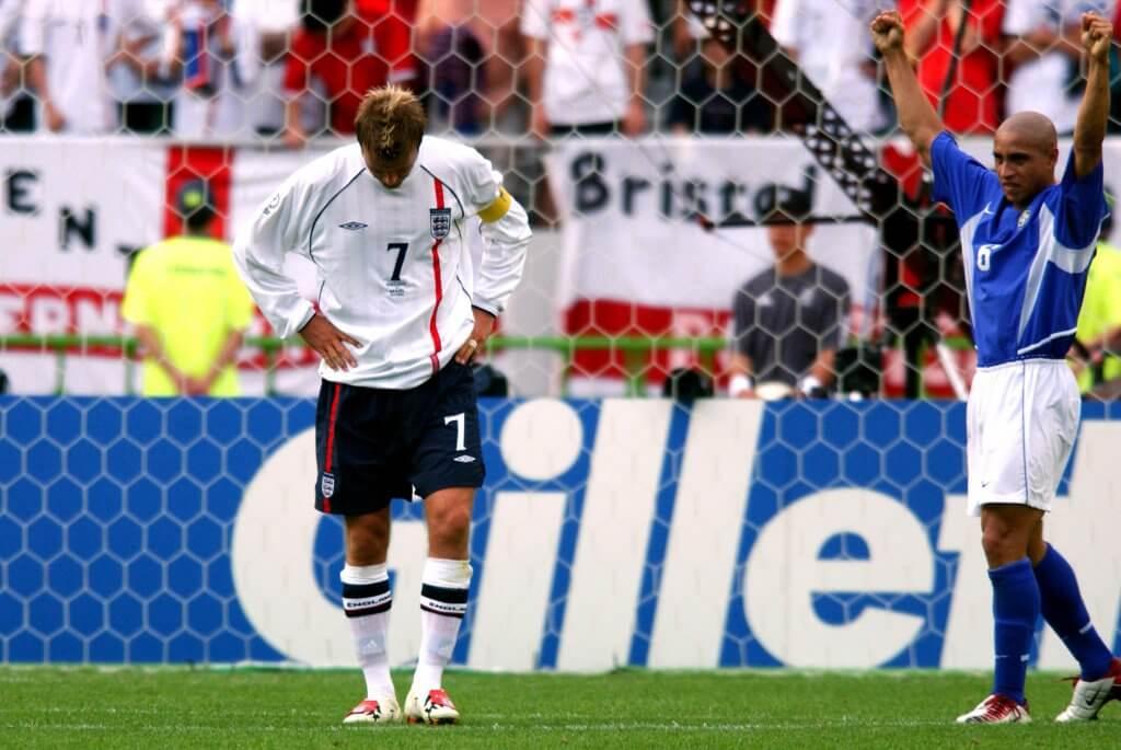 Beckham FIFA World Cup 2002