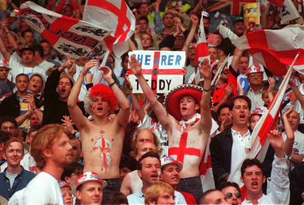 Euro 96 England fans