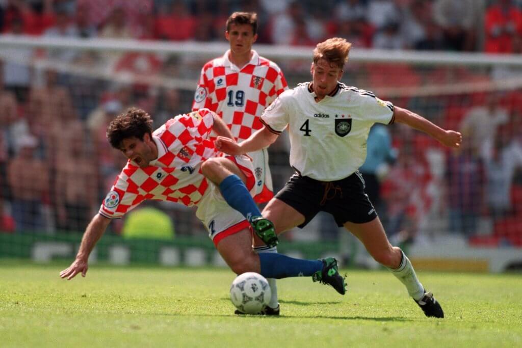 Euro 96 Germany v Croatia