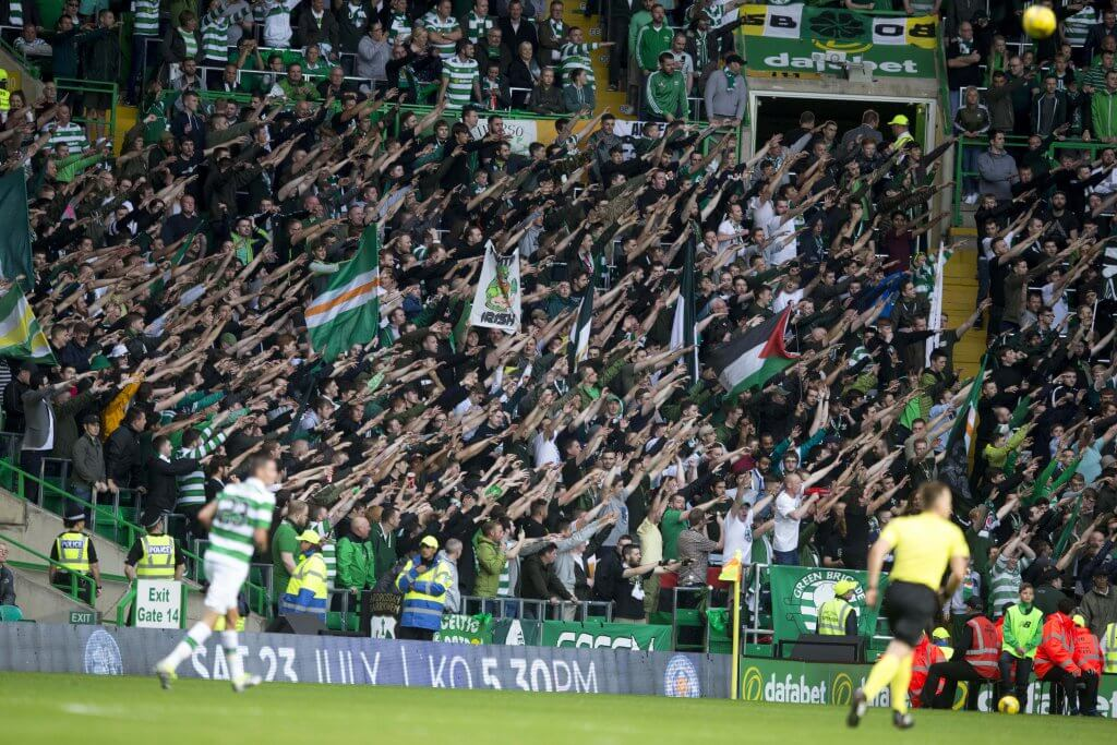 Celtic Rail seats safe standing