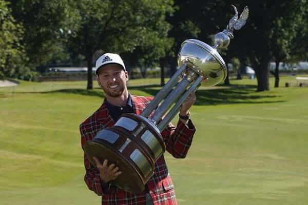 Daniel Berger Golf