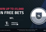 NFL: Play our Free to Play Predict & Win for £5000 in free bets!