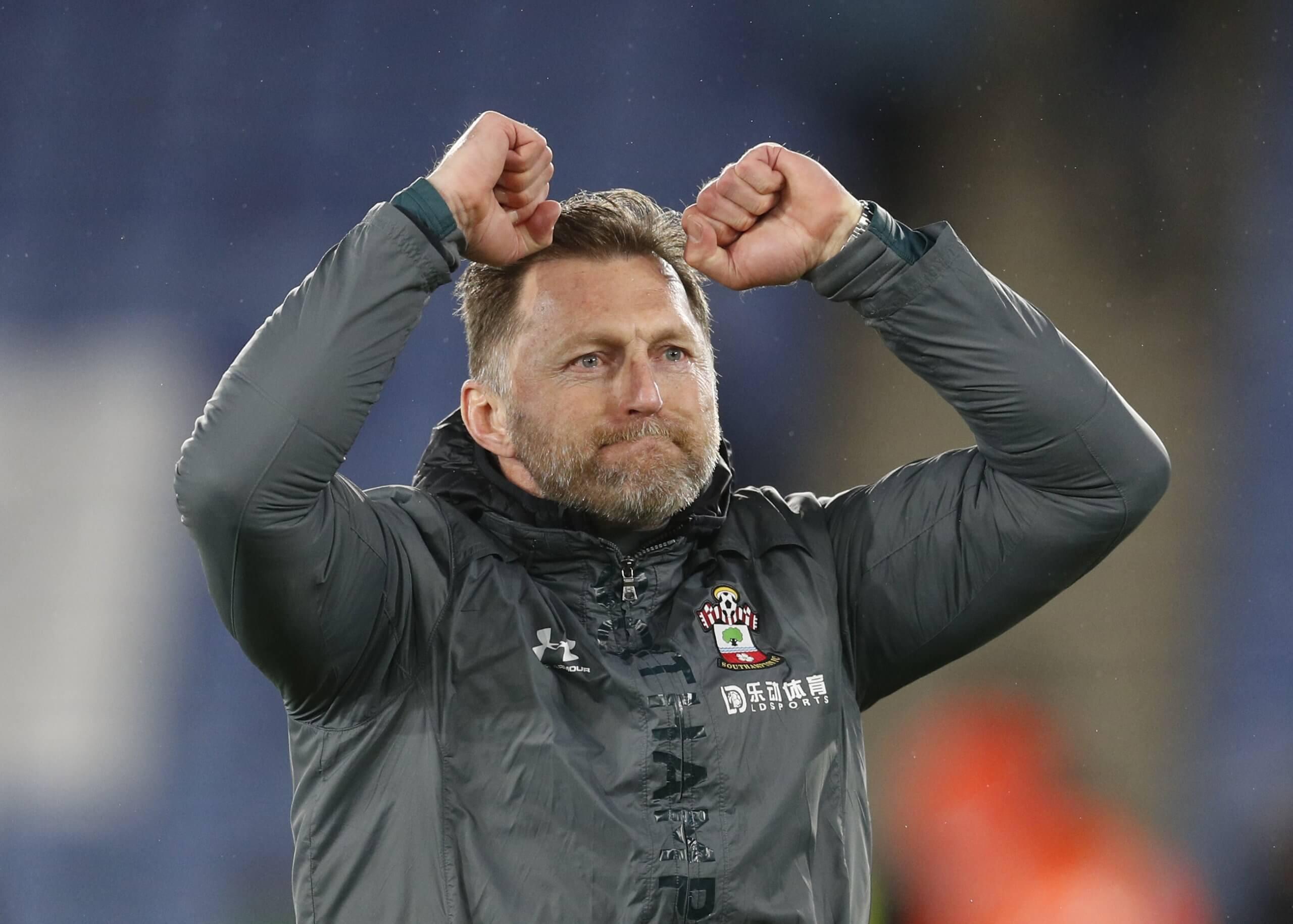 Ralph Hasenhuttl manager of Southampton