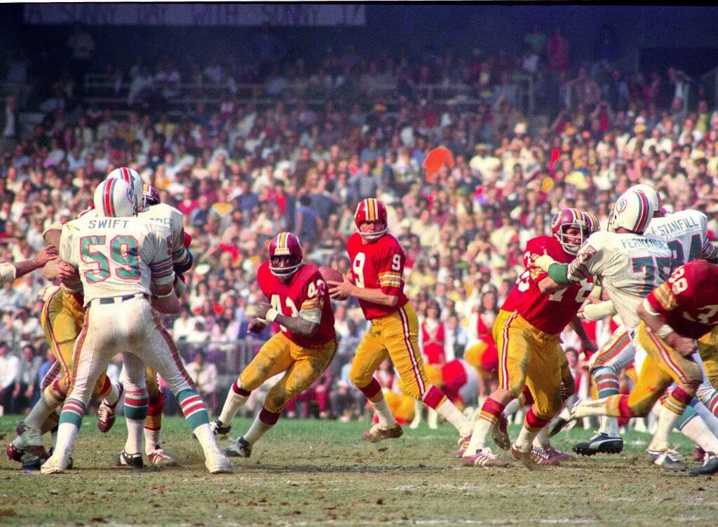 Miami Dolphins v. Washington Redskins
