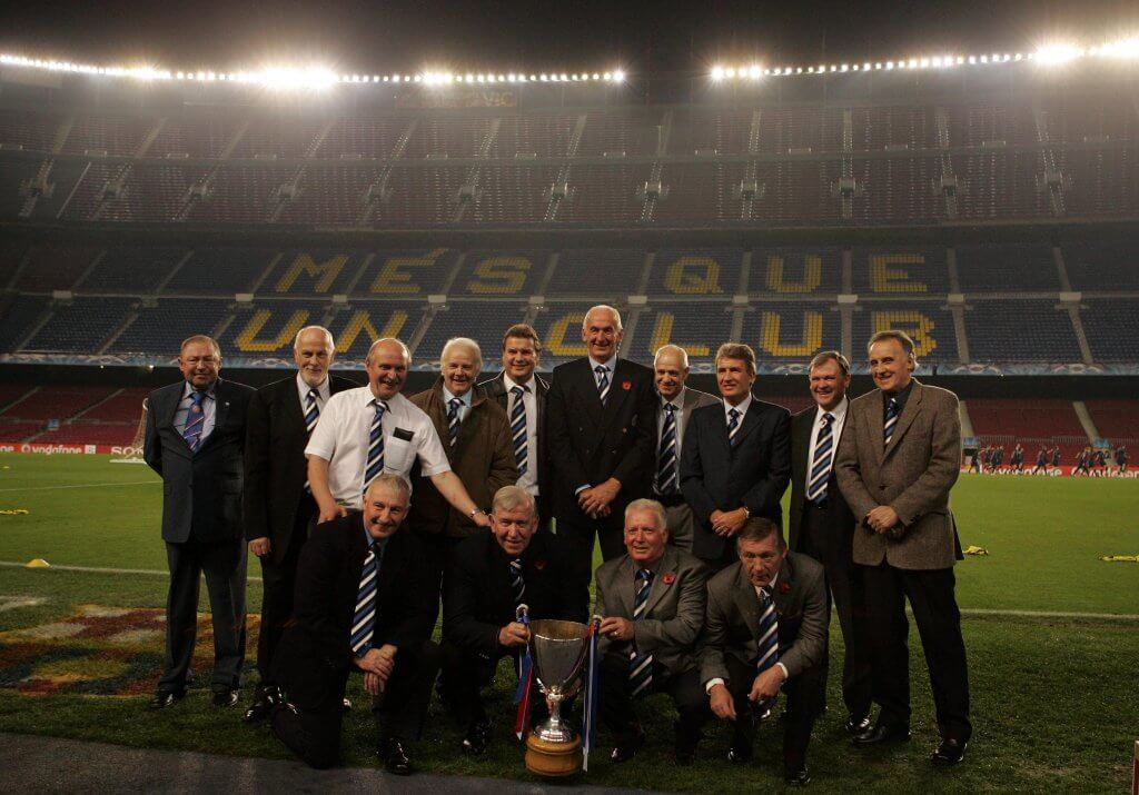 The 1972 Rangers Cup winners
