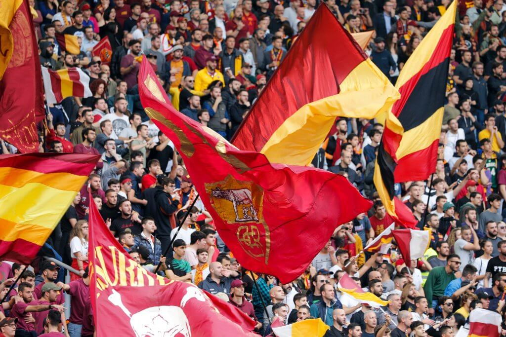 Roma fans italy Serie A