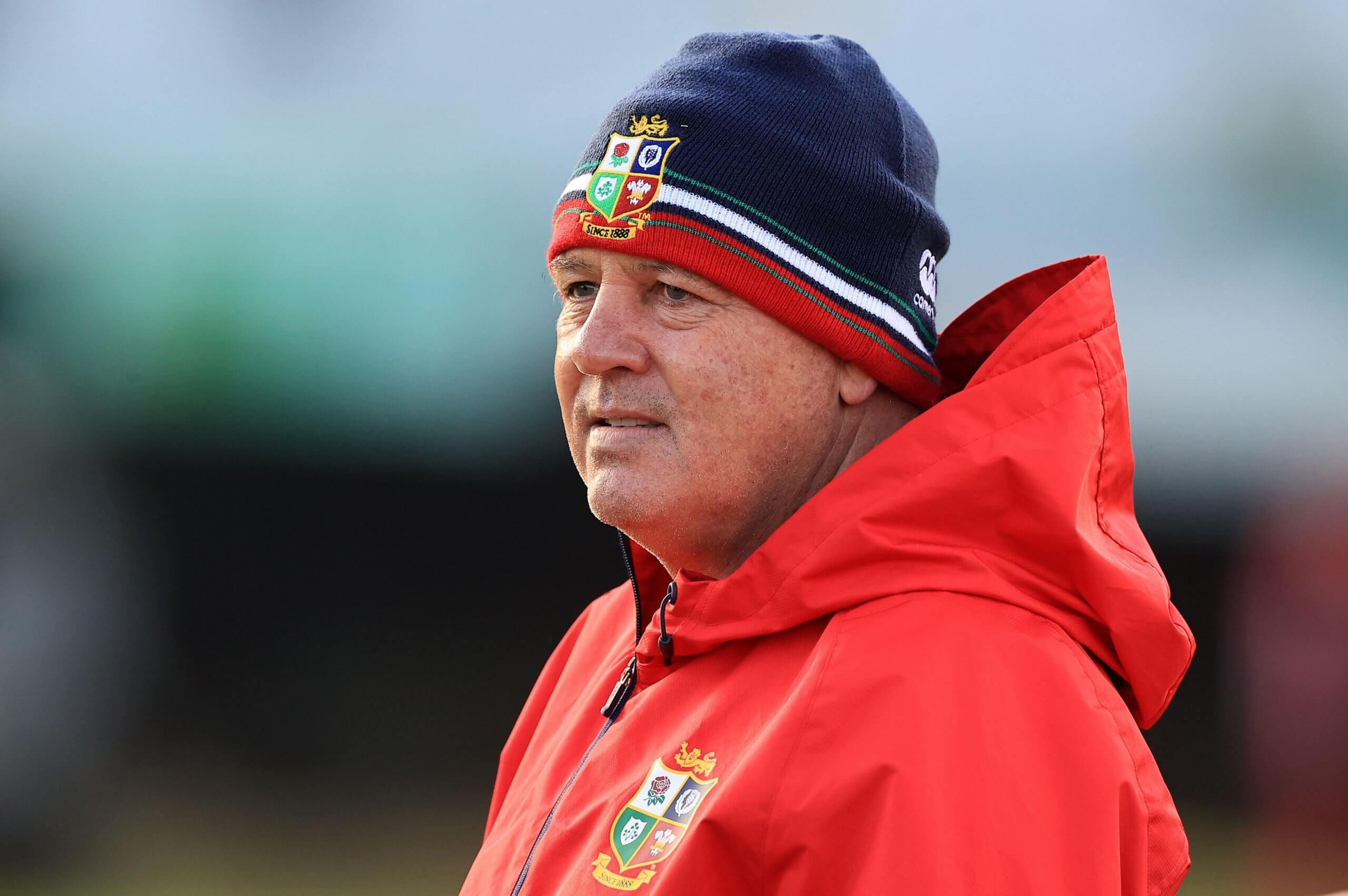 Britsh and Irish Lions head coach Warren Gatland