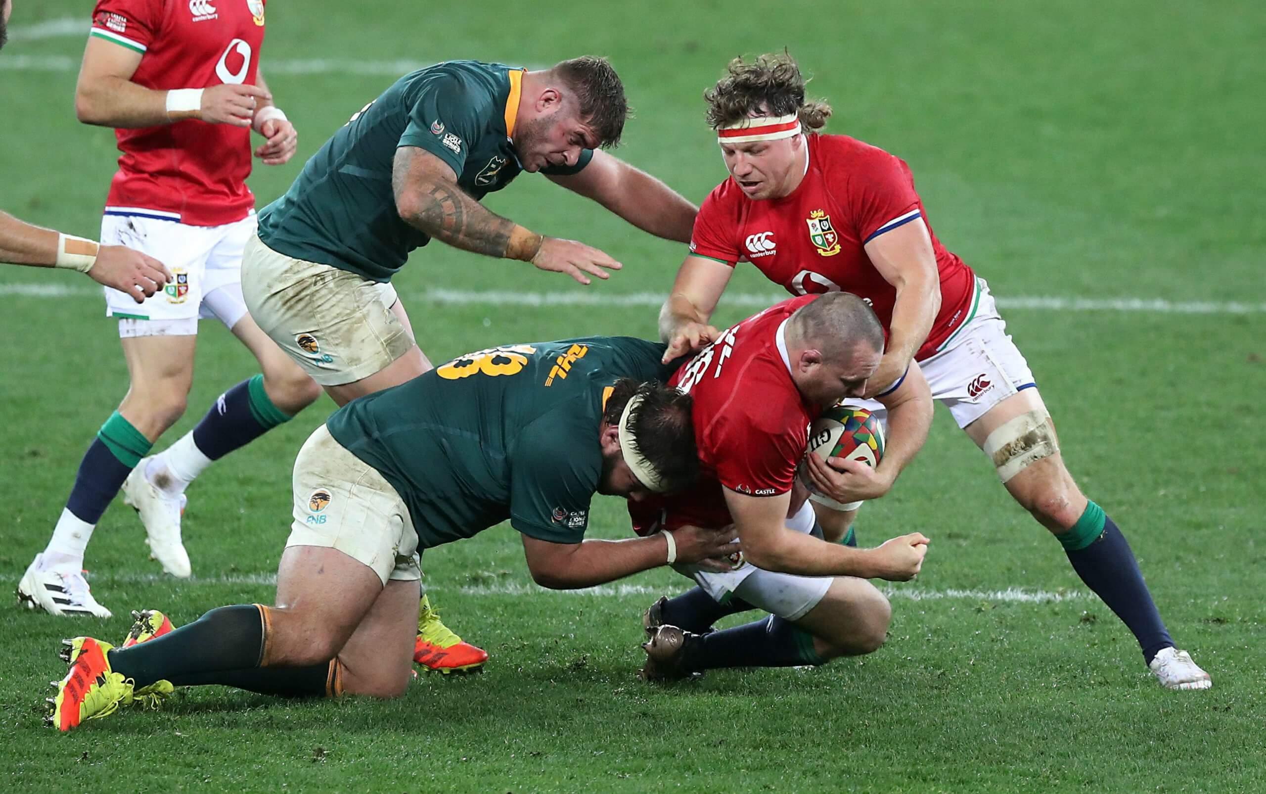 British & Irish Lions 2021 South Africa Rugby Union