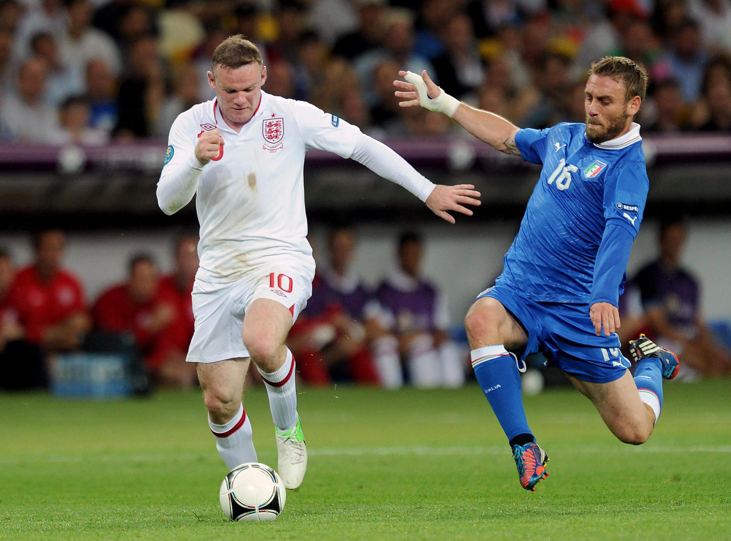 England v Italy 2012 Euros