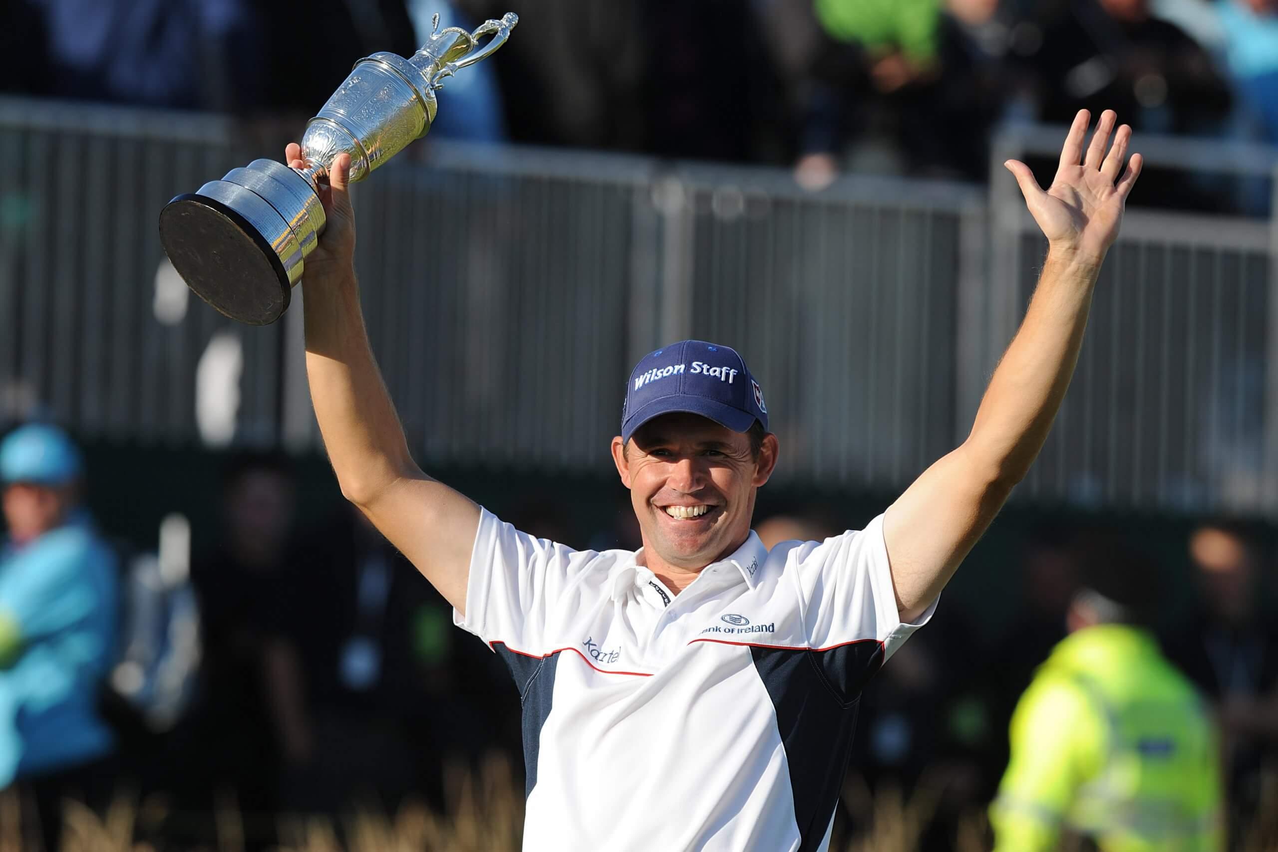 Harrington The Open Golf