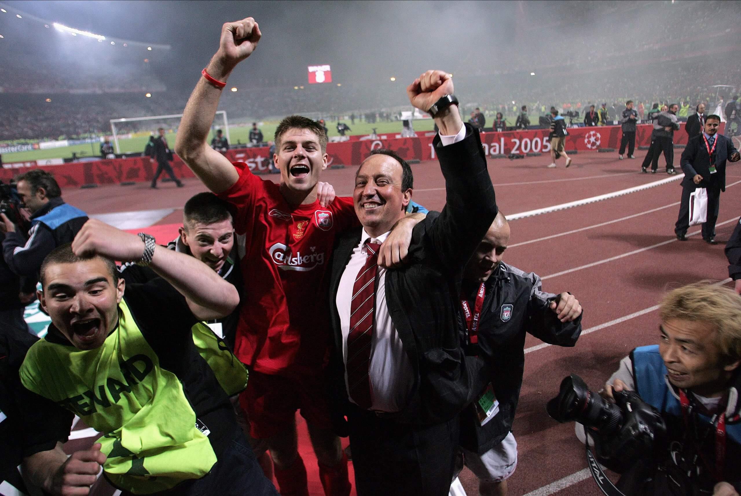 Rafa Benitez Istanbul
