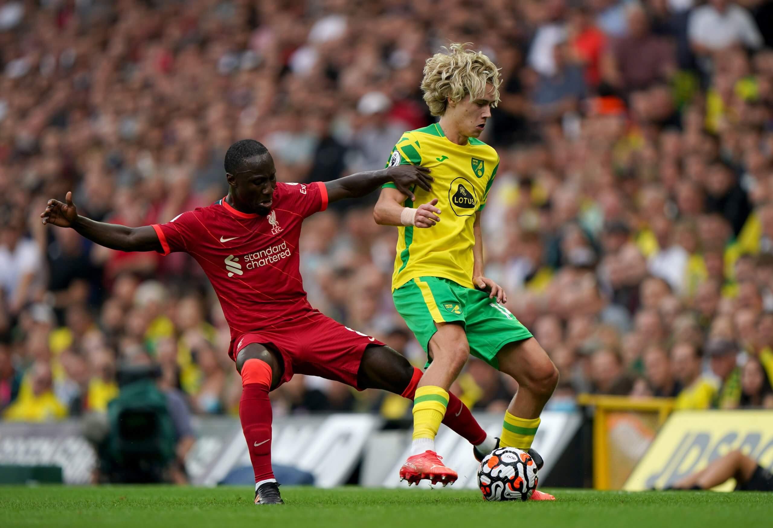 Norwich City v Liverpool 2021