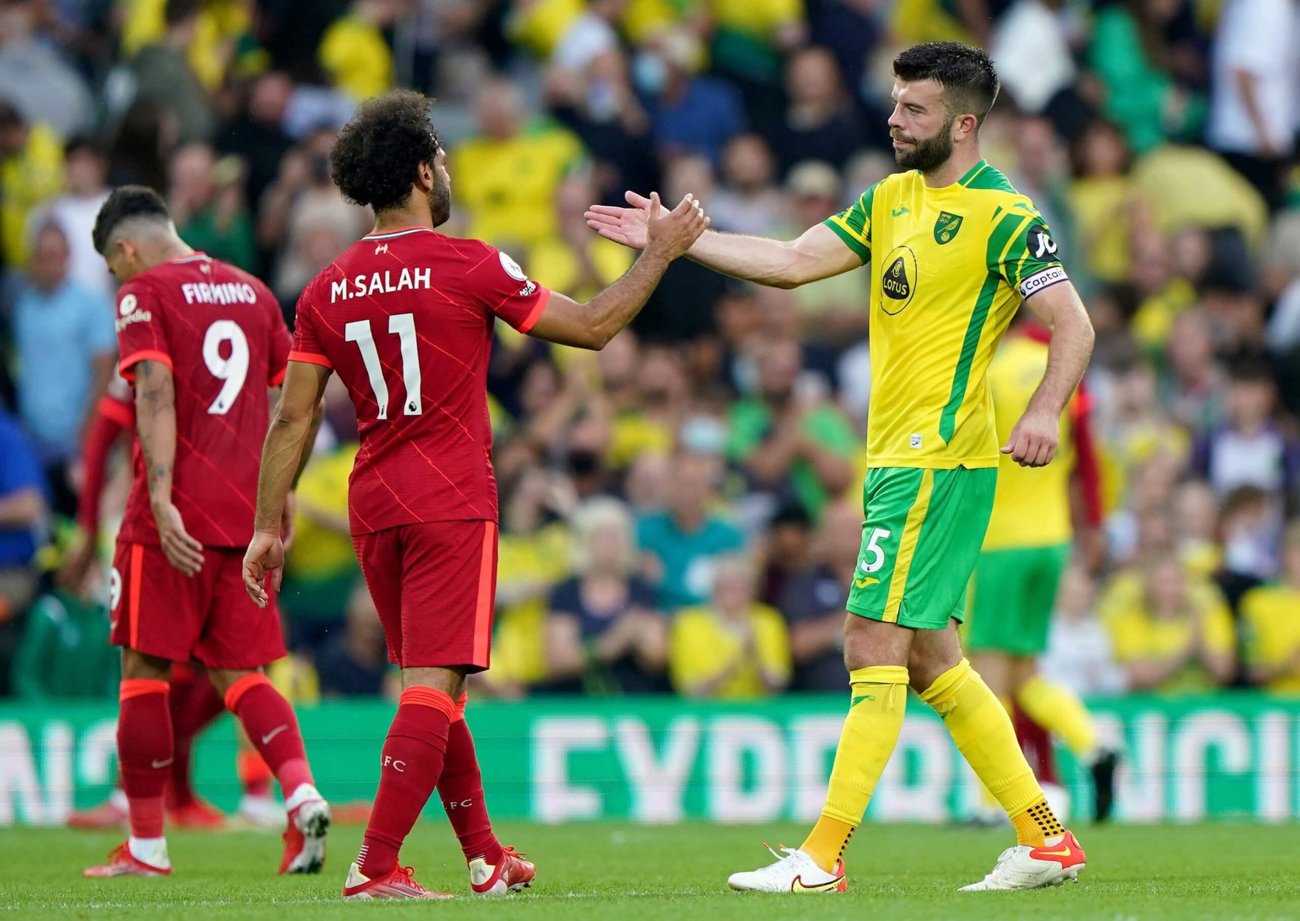 Norwich v Liverpool 2021
