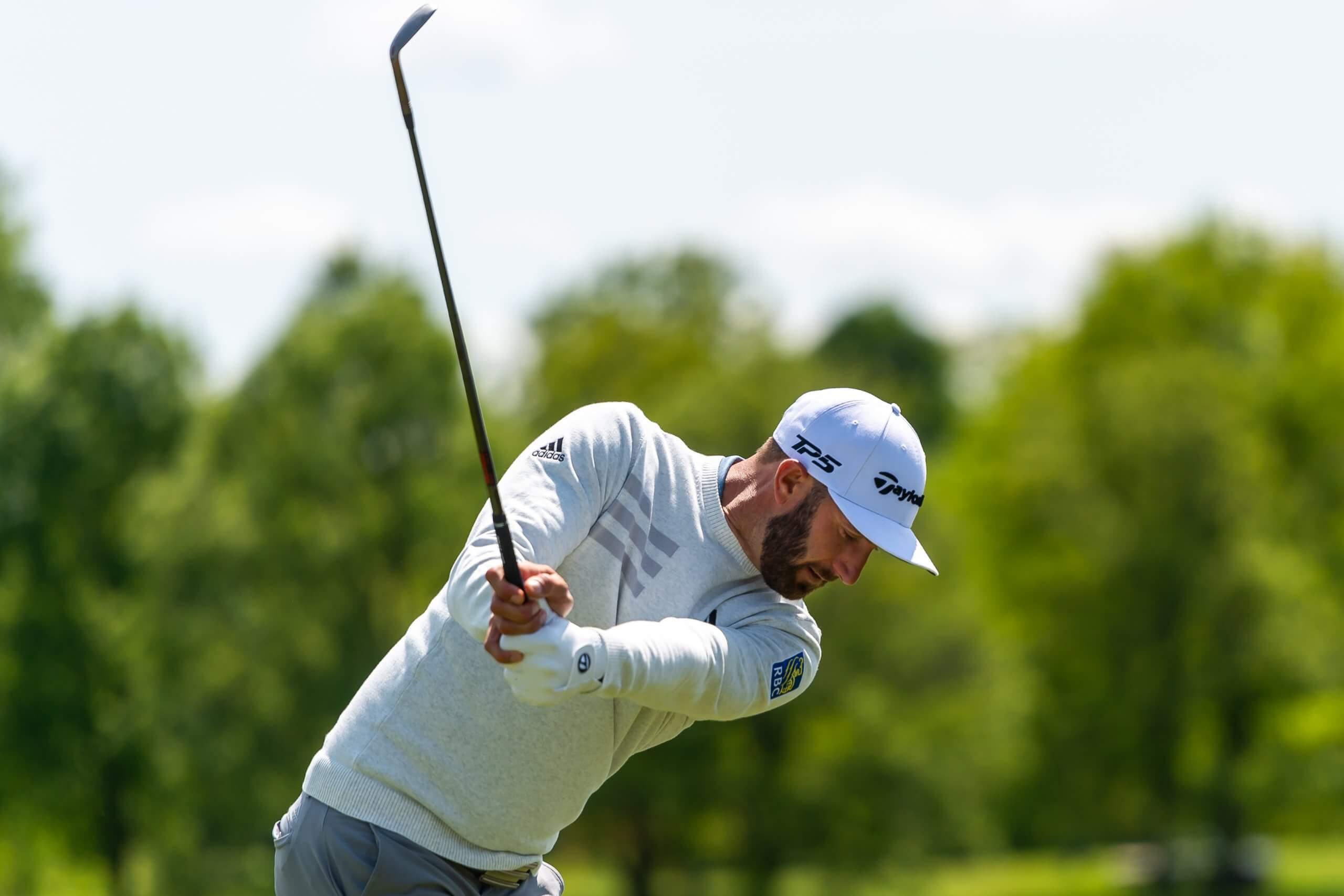 Dustin Johnson golf