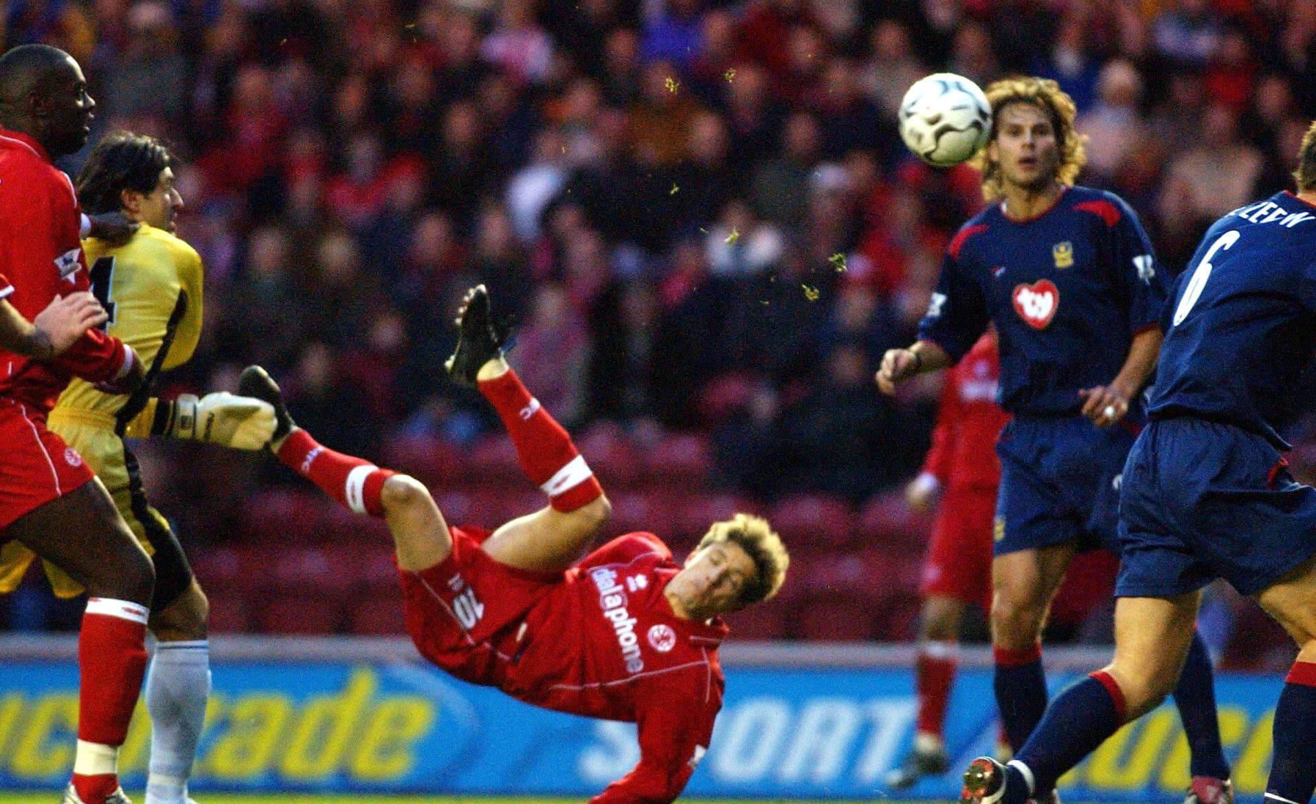 Juninho of Middlesbrough