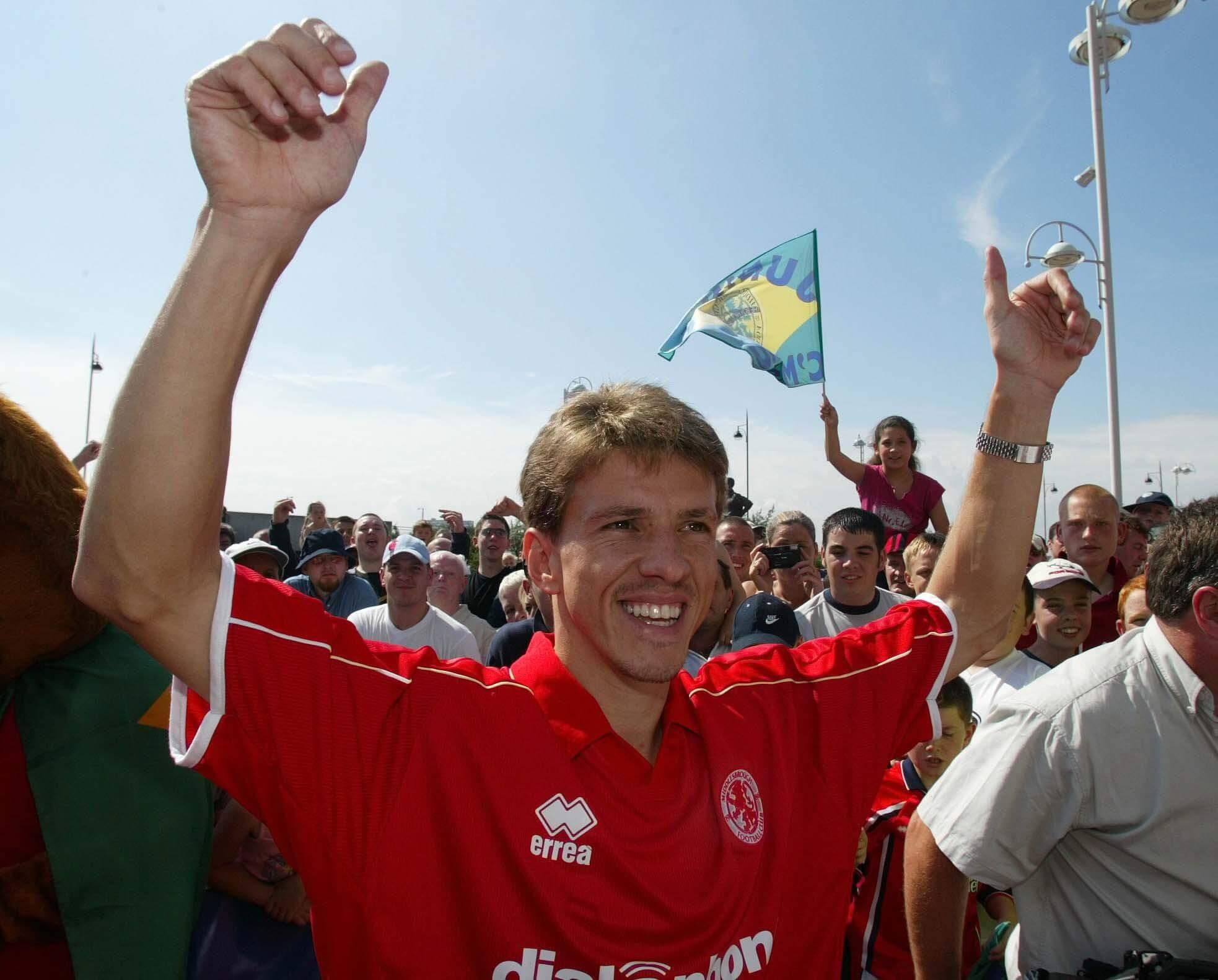 Juninho Middlesbrough